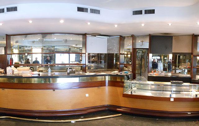 Riqualificazione bancone bar for Ristrutturare bancone bar