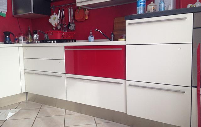 Riqualificazione pannelli cassetterie cucina - Pannelli cucina ...
